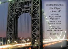 Image result for new york themed invitations Prom Ideas New York