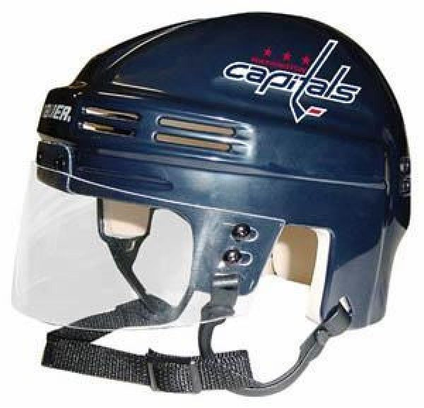 NHL Washington Capitals Replica Mini Hockey Helmet