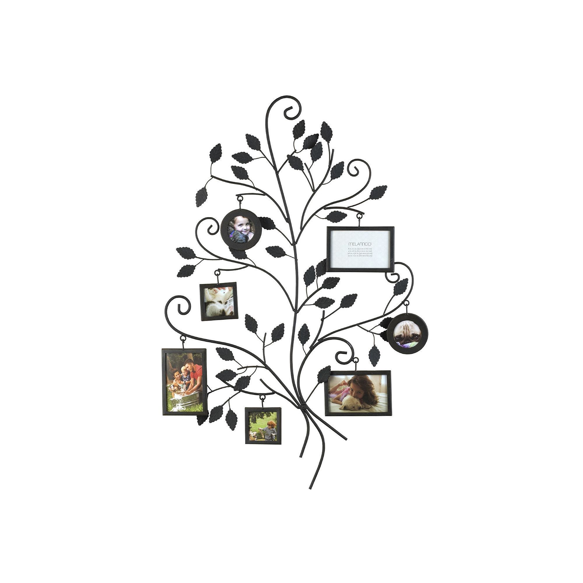 Melannco 7-Opening Family Tree Collage Frame, Multicolor | Pinterest