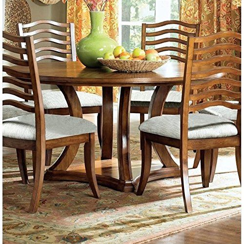 Monarch 60 Round Dining Table In Golden Oak Click Image To Review More Details