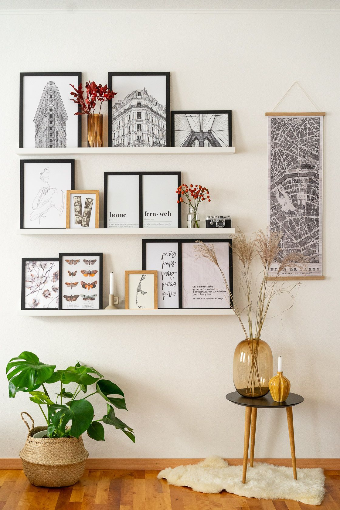 Fotowand gestalten – 5 Tipps & kreative Ideen – My Blog