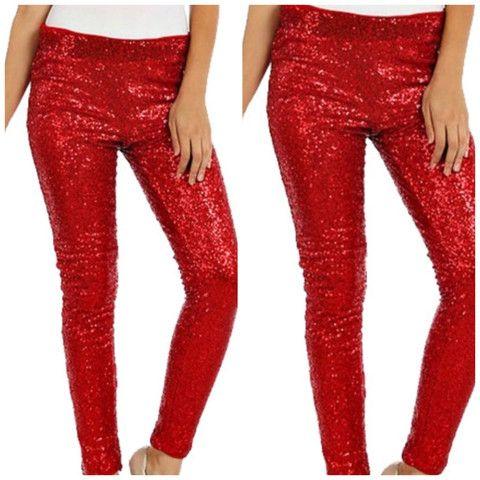 Red Sequin Leggins Fondren S Fashion House Red Sequin Fashion Sequins