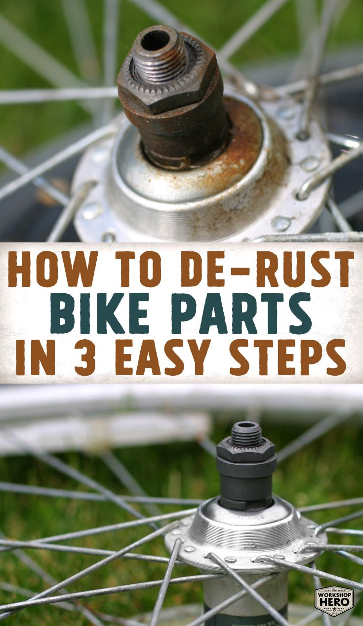 Watch Our Video To Learn How To Remove Rust From Bicycles In Three