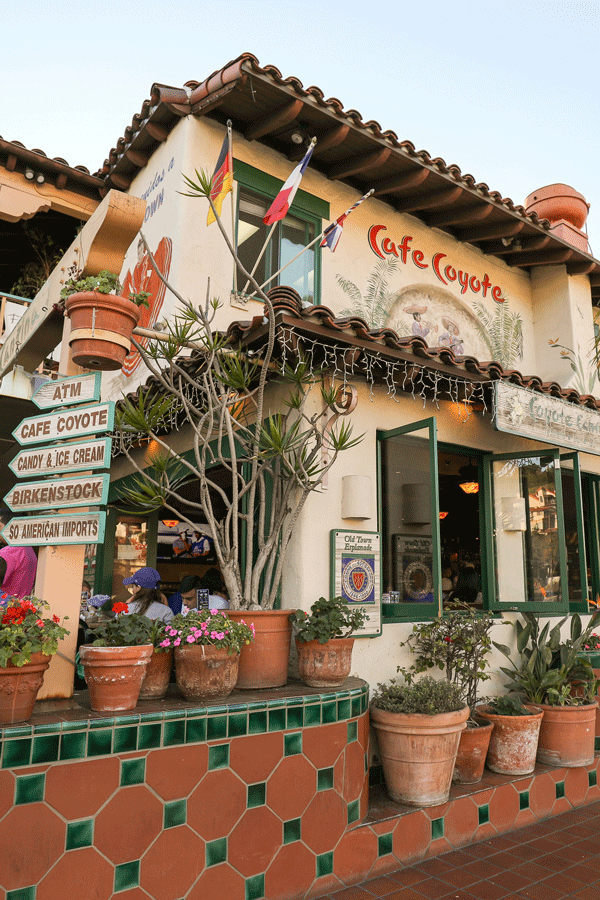 Cafe Coyote Is Consistently Hailed As One Of The Best Authentic Mexican Restaurants In San D San Diego Restaurants Mexican Restaurant Design Old Town San Diego