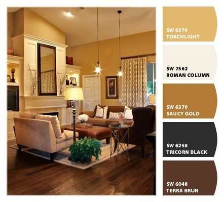 43 Cozy And Warm Color Schemes For Your Living Room Paint Colors
