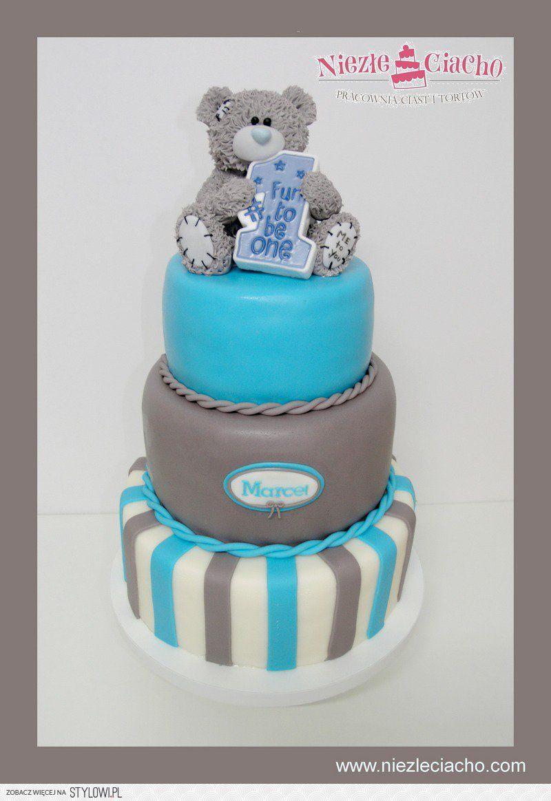 Misiu Mis Tort Z Misiem Pietrowy Tort Urodzinowy Torty Bajkowe