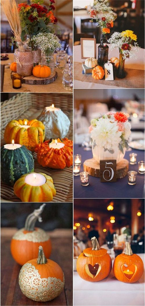 40+ Fall Wedding Centerpieces On Your Big Day #weddingfall
