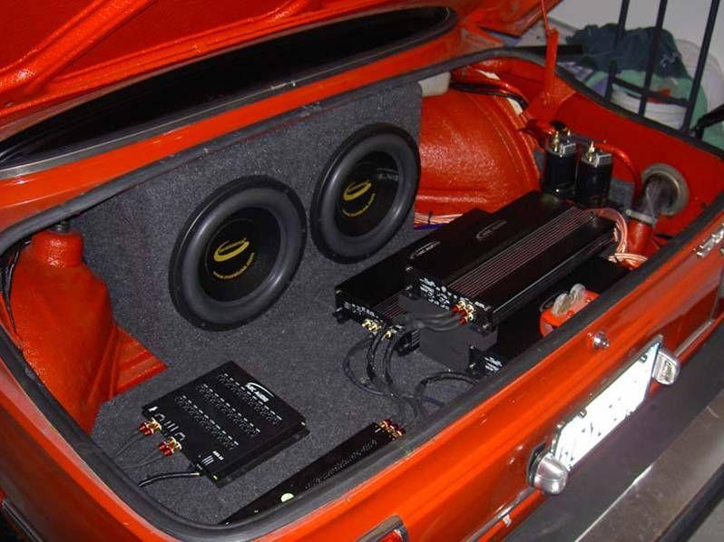 Car Subwoofers Craigslist Trunk