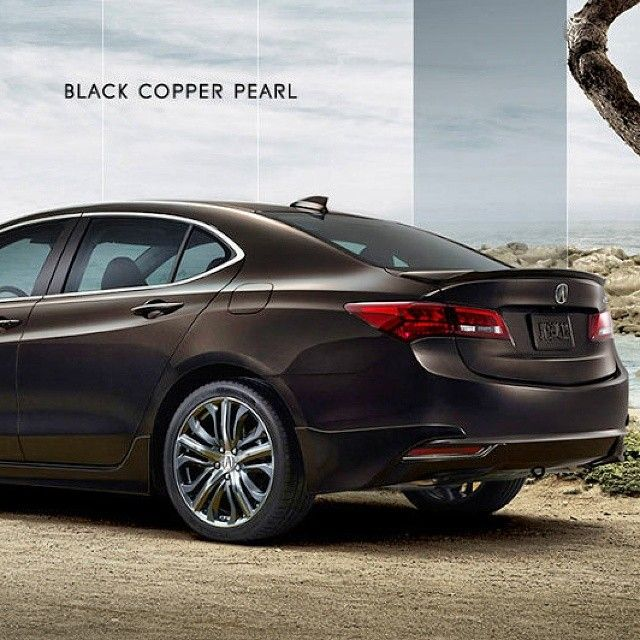 The #2015acuratlx In Black Copper Pearl And 6 Additional