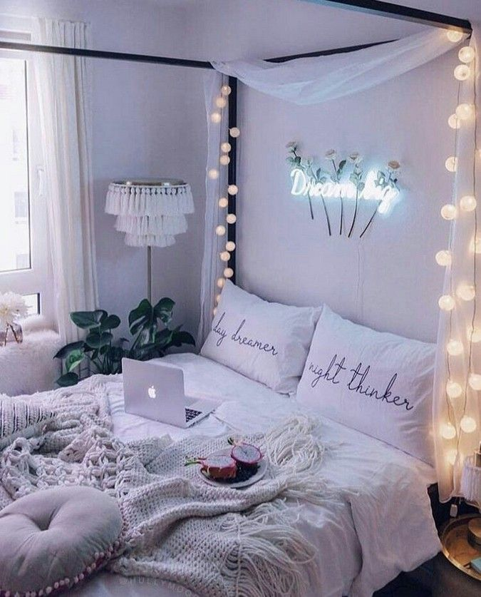 16 Relaxing Bedroom Designs For Your Comfort: 20+ Relaxing Bedroom Lighting Decoration Ideas For You 16