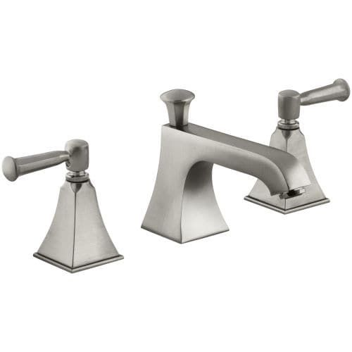 Kohler K-454-4S Memoirs Stately Widespread Bathroom Faucet with ...