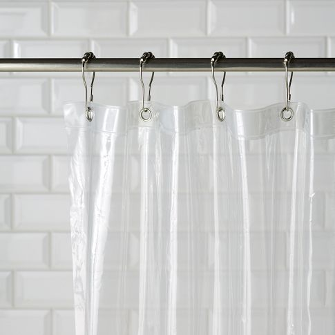 Eco Shower Curtain Liner An Earth Friendly Vinyl That Pairs Perfectly With All West Elm Curtains O Made Of PEVA A Combination 50 PE And