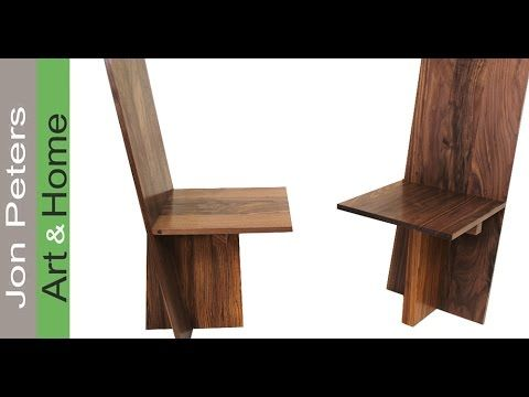 How to Make a set of Modern Chairs PART 2, Assemble and Finish