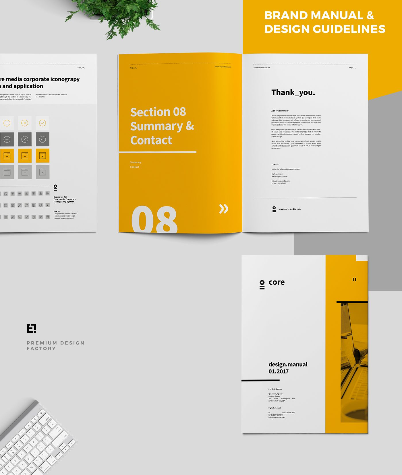 Core Brand Manual & Guidelines on Behance
