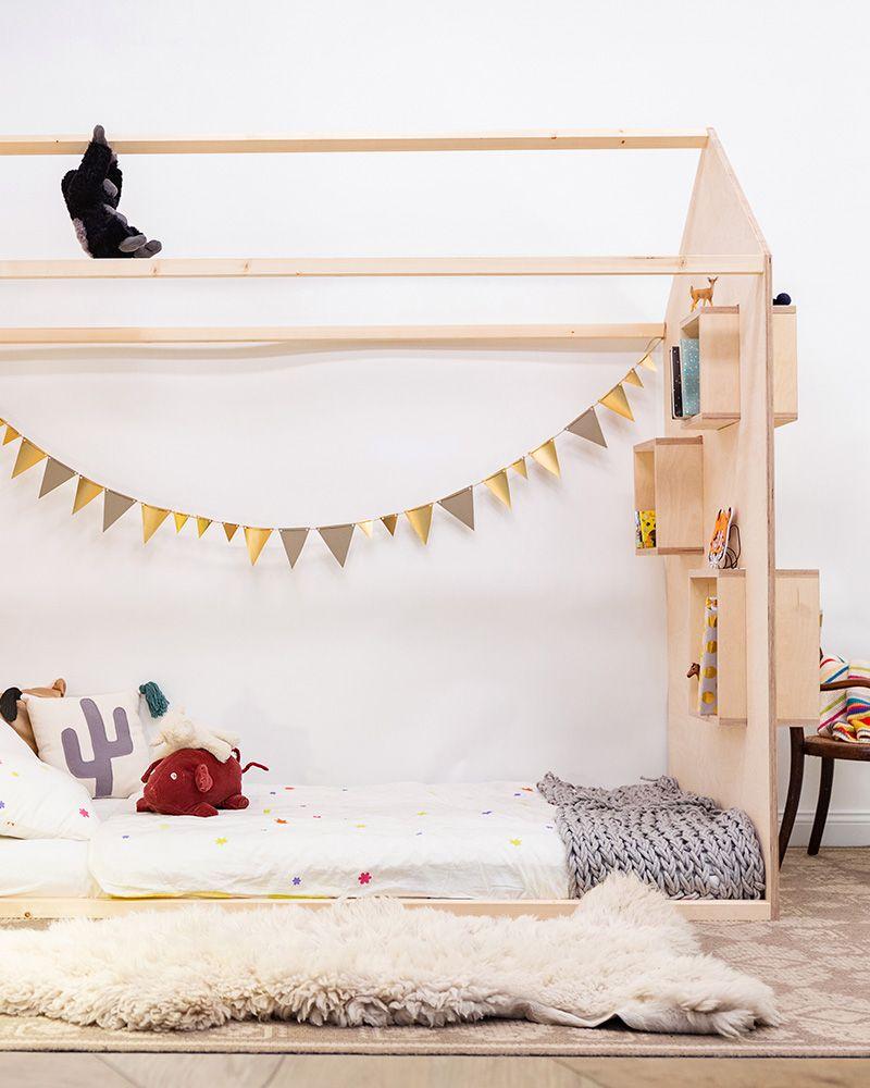 Fabriquer Lit Cabane Montessori lit cabane montessori : comment le fabriquer soi même | lit