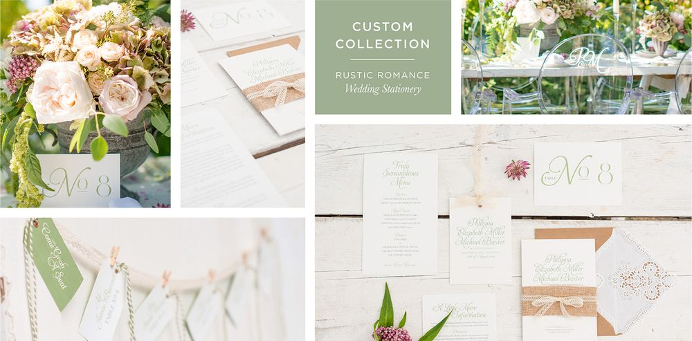 Rustic Romance Wedding Stationery