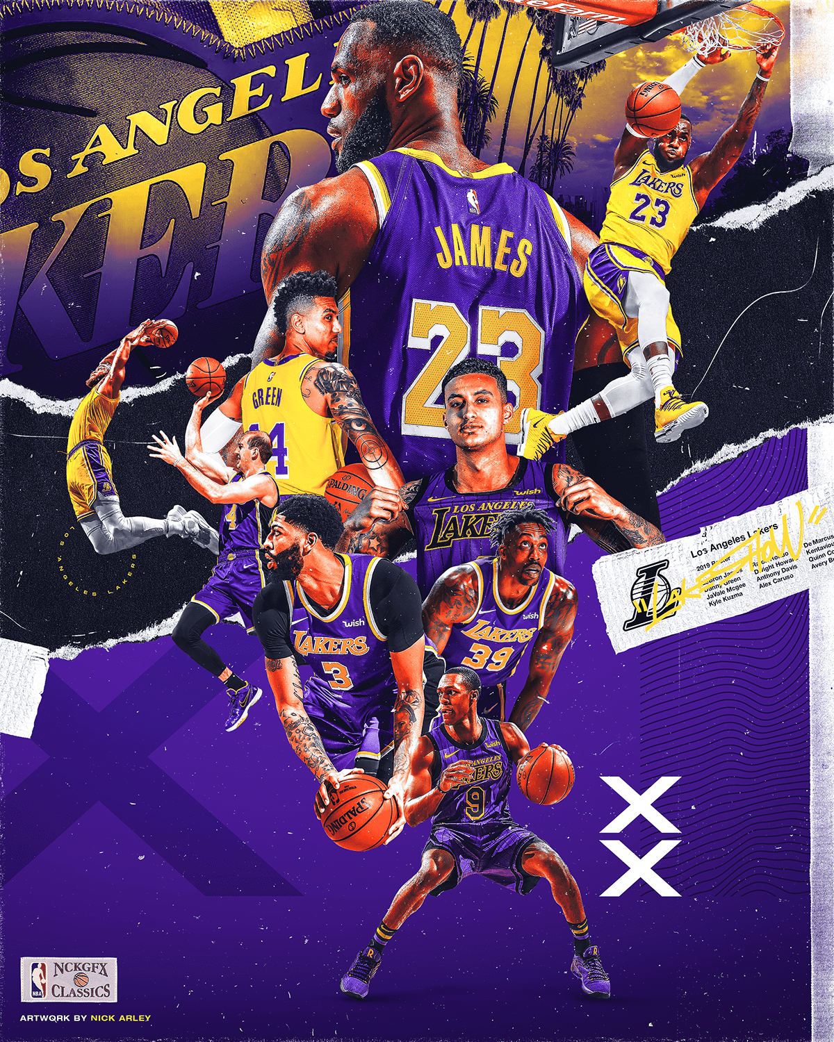 Lakeshow 20192020 on Behance in 2020 Lakers wallpaper