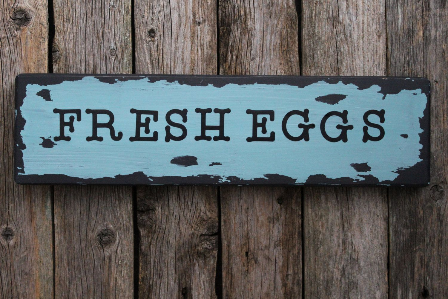 Fresh Eggs Sign, Farmhouse Decor, Kitchen Decor