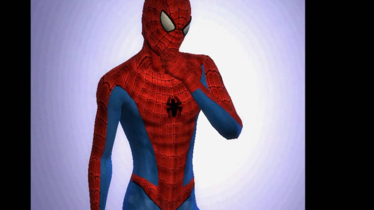 Sims 4 D 233 Guisement Costume Marvel Spider Man Mixte Games
