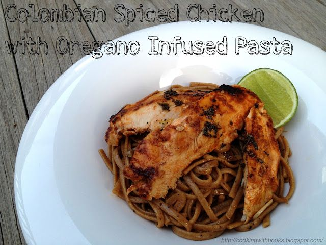 Weeknight eats colombian spiced chicken jovial foods pasta weeknight eats colombian spiced chicken jovial foods pasta recipe from cooking with books forumfinder Gallery