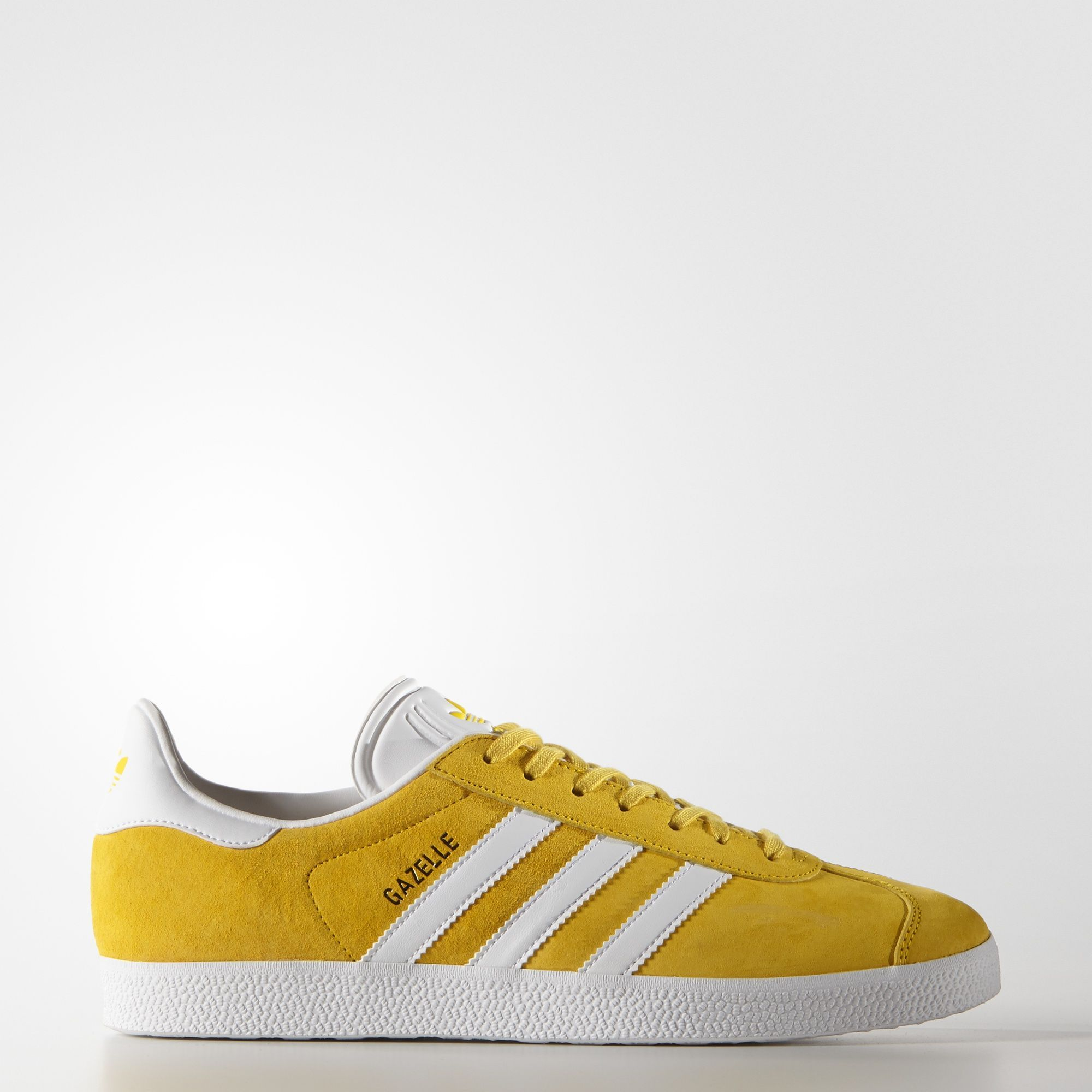 adidas  Gazelle Shoes yellow pinned color size 8 5