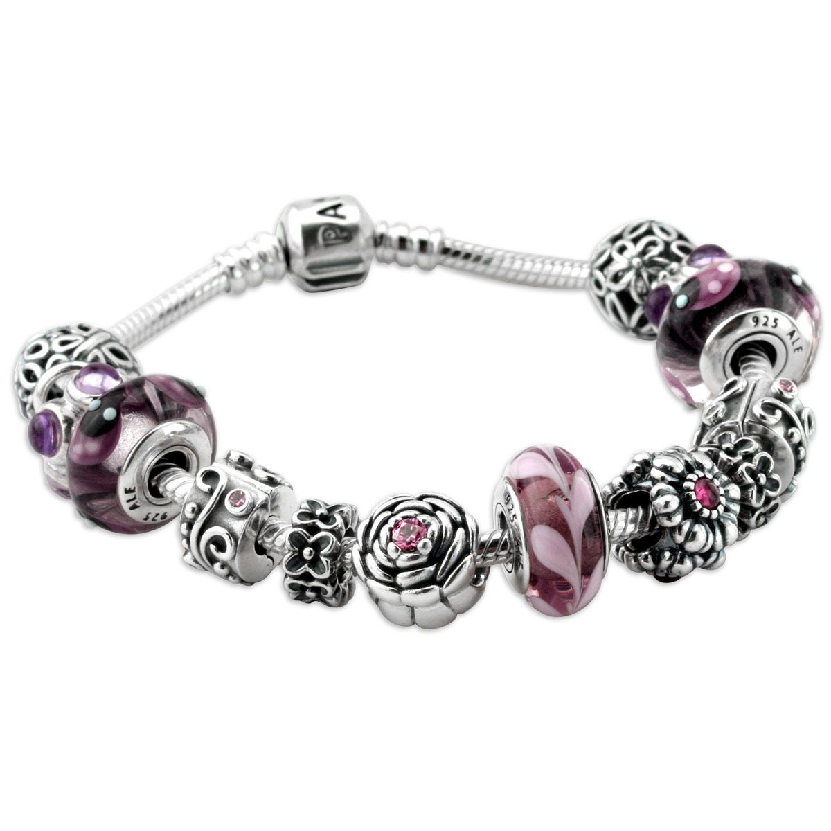 ccf007808 Very Pretty Pandora Bracelet, but way too expensive! $655   My Style ...