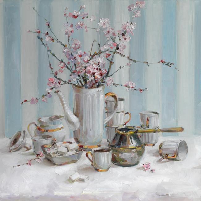 Skripchenko Liudmila. Coffee with almonds