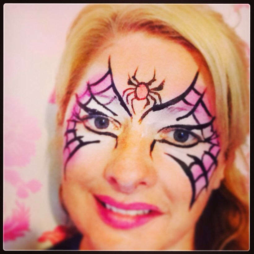 Just a few of my scary face painting designs Face painting ideas - halloween face paint ideas scary