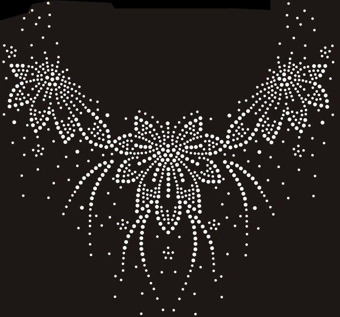 strass motiv blumenranke hotfix b gelbild 23x22 cm applikation ornament kost m 2017. Black Bedroom Furniture Sets. Home Design Ideas