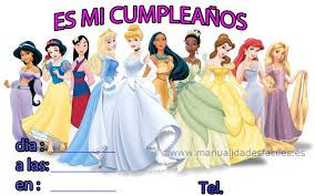 Image result for cumpleaños princesas disney