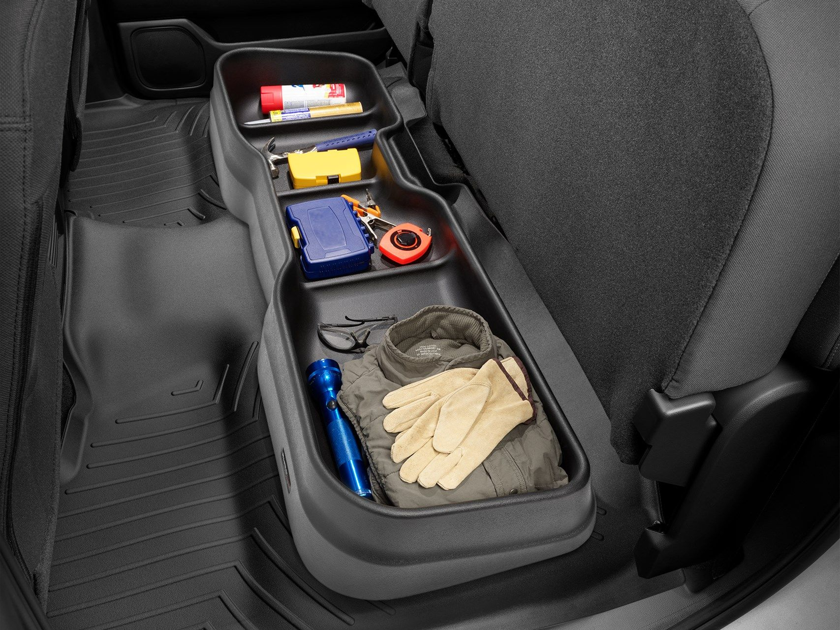 Chevrolet 2011 Silverado 1500 Under Seat Storage System in