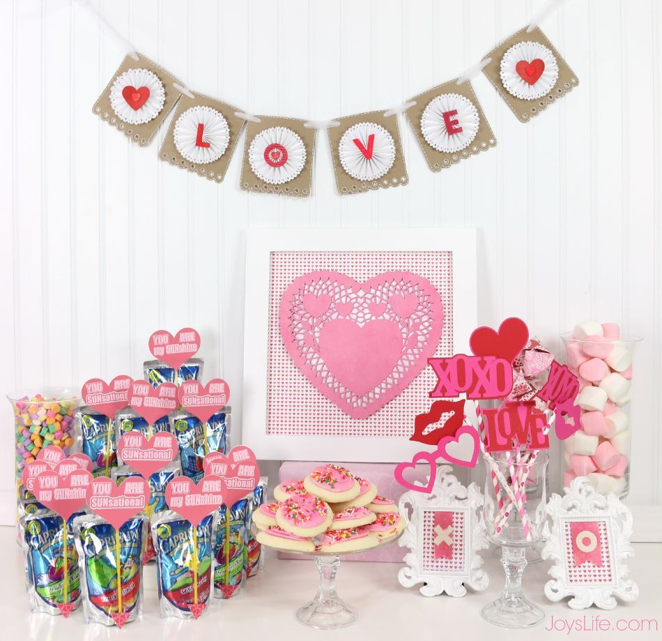 Valentines Day Party Ideas And Paper Fortune Cookie