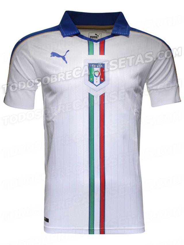 Italy Euro 2016 Puma Away Kit  0299b433542cf