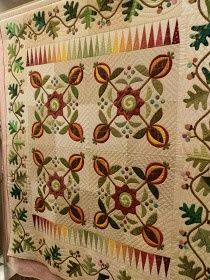 Floating on a Quilted Cloud: More from the Quilter's Gathering show!