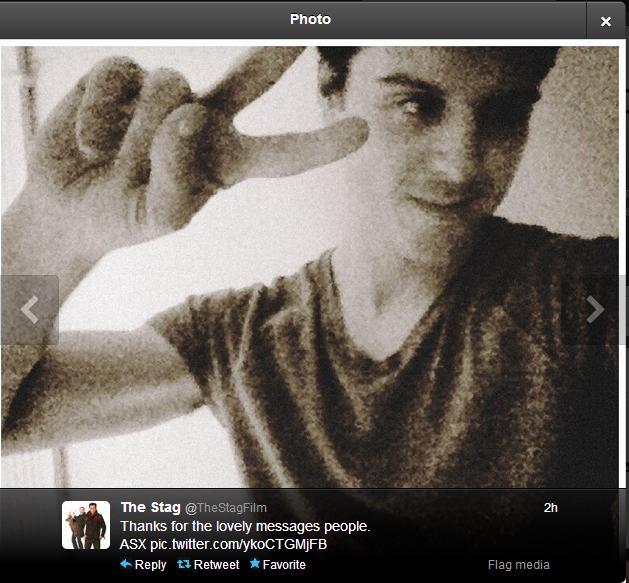 Andrew Scott selfie via twitter