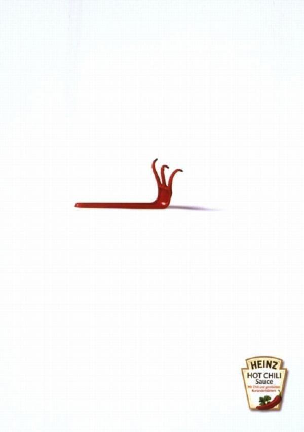 Print ad leo burnett Samsung Heinz Pinterest Heinz
