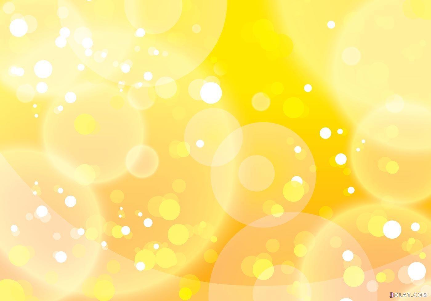 خلفيات للتصميم غاية في الروعة و الجمال 2018 أجمل الخلفيات لأجمل التصاميم Vector Art Design Bokeh Background Yellow Background