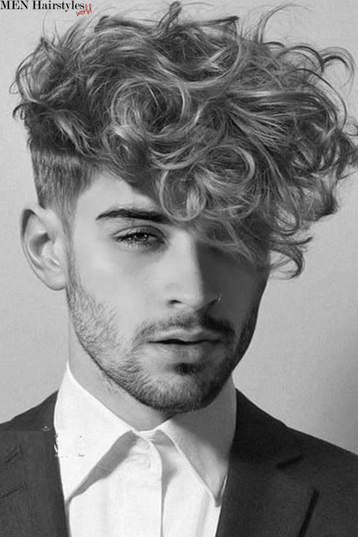 Pin On Hairstyles For Men With Curly Hair