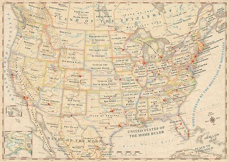 Infographic: The Literal Meaning Of Every State Name In The U.S.