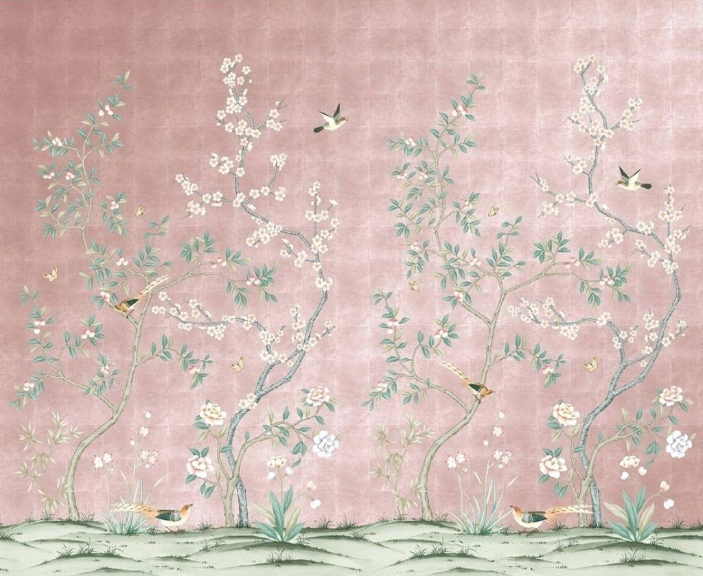 Image Result For Pink Chinoiserie