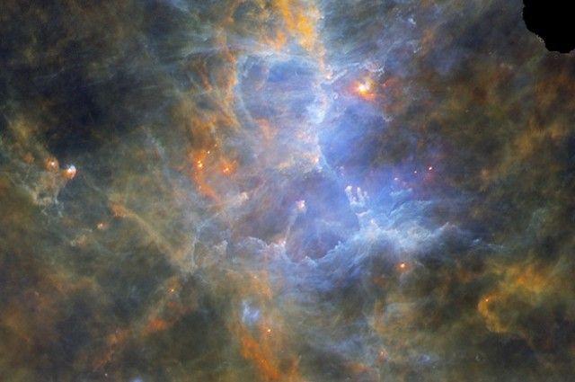 Un espectacular tour de infrarrojos de la Vía Láctea en este video