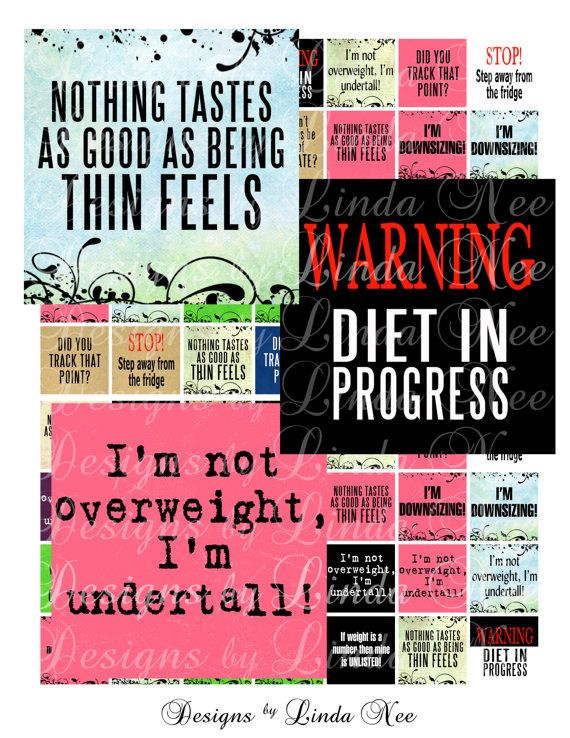 instant download weight loss quotes 75 x 83 scrabble inch