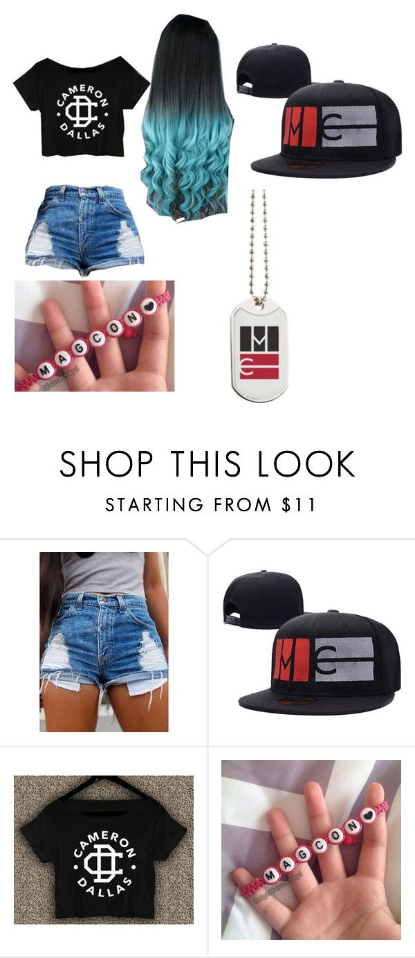 """""""magcon"""" by celerose ❤ liked on Polyvore"""