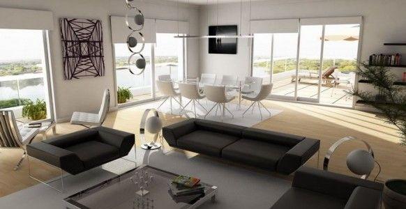 modern dark brown sofa - Buscar con Google