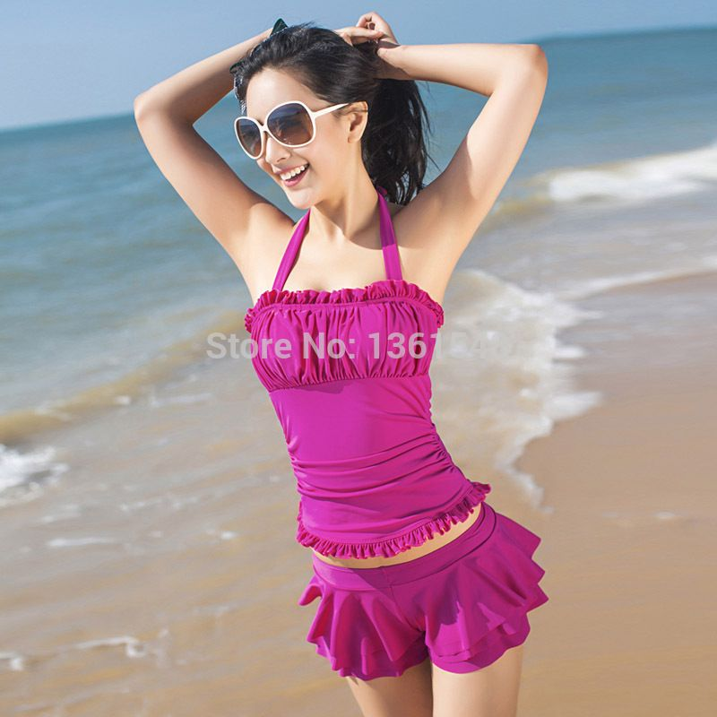 91c9a6200f7 black or purple tankini for junior girls | , Green, Purple Juniors ...