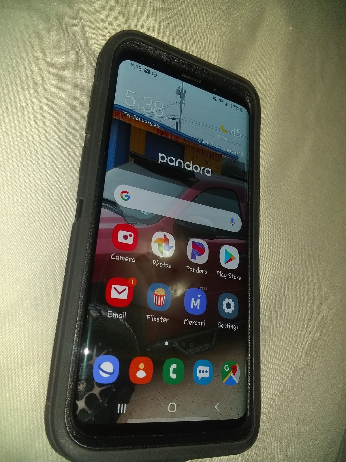 Samsung galaxy s9 plus on Mercari