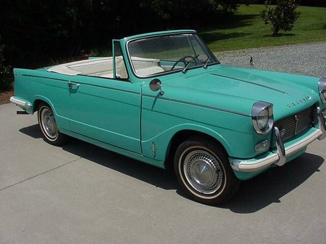 1966 Triumph Herald convertible with Spitfire 1500 ...