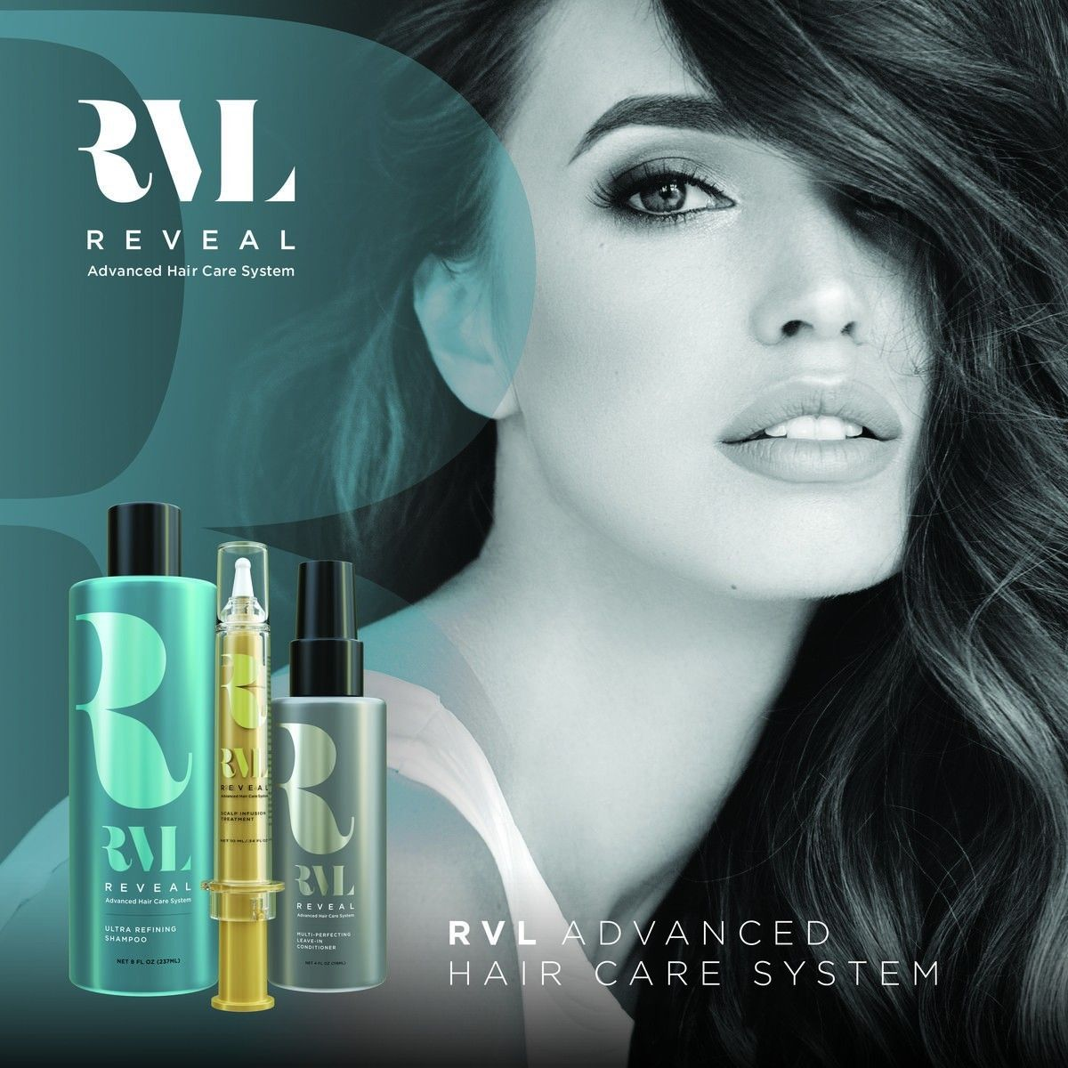 The Revolutionary Rvl Advanced Hair Care System Includes A Cleansing Shampoo Scalp Serum And Hydrating Leave In Conditioner All With De Guzellik Deri Unluler