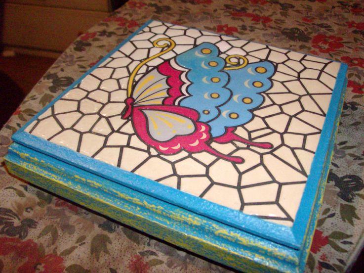 Caja Falso Mosaico Mosaiquismo Y Otras Yerbas