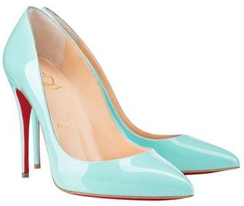 884ce768a9a Blue Sexy Pigalle Follies 100 Patent Mint Opaline 41 Pumps | shoes ...